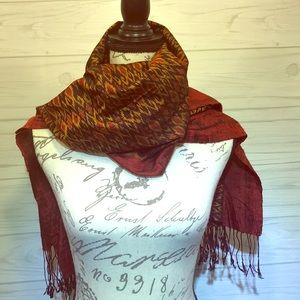 Indian Print Scarf/Shawl